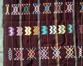Beautiful  vintage fabric from Huehuetenango, Guatemala.