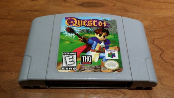 Quest 64 nintendo 64 console video game system by retrogamezone