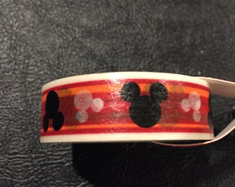 Washi Tape, Decorative Tape – Mickey Mouse, Color Combination of  Red, Black, and White, 1 Roll