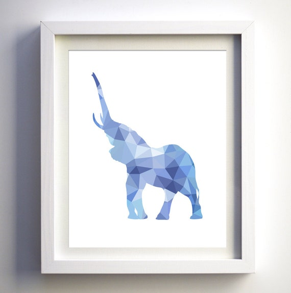Wall Art Apk Download : Geometric elephant printable instant download wall art diy