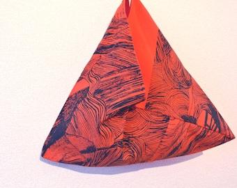 Triangle bag -YUYAKE- tenugui
