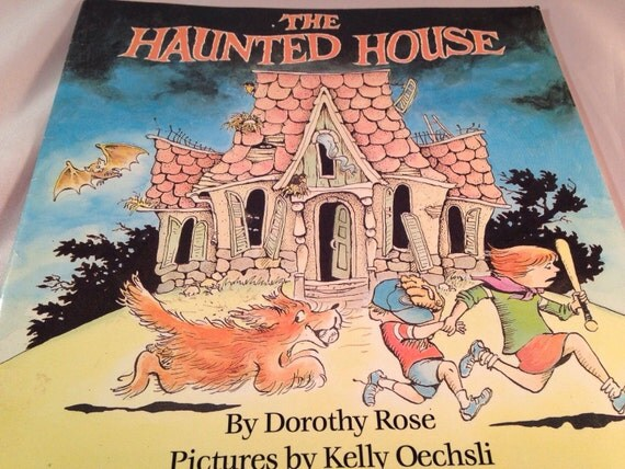 Vintage The Haunted House By Dorothy Rose Halloween Paperback