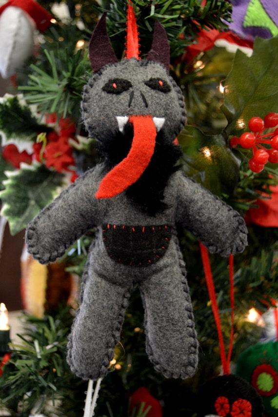 Krampus Christmas Tree Ornament