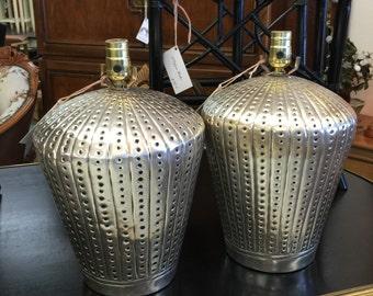 Silverplated Lamp