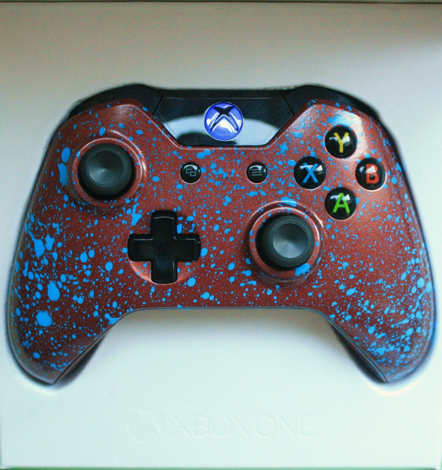 Fun Games For Xbox Original : Brand new xbox one controller led blue mod custom
