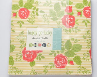 Happy Go Lucky by Bonnie and Camille for Moda Layer Cake OOP HTF