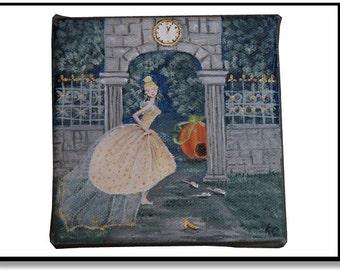Small canvas Cinderella
