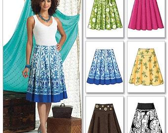 Butterick Pattern B4686 Misses' Skirt