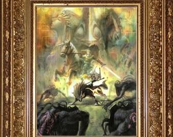 The Legend of Zelda Twilight Princess 1 Glossy HD Print