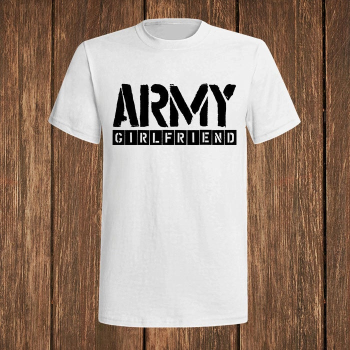 Make the best VMI Girlfriends in front of Barracks custom t-shirts at Custom Ink. See these photos and make your t-shirts, hoodies, koozies, and more for you or your group.