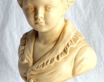 Vintage Esco Bust of Boy