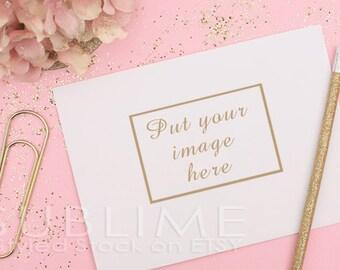 Styled Stock Photography / Blank Envelope / Mock up / Card Design / Card Mock up / Styled Envelope / JPEG Digital Image / StockStyle-346