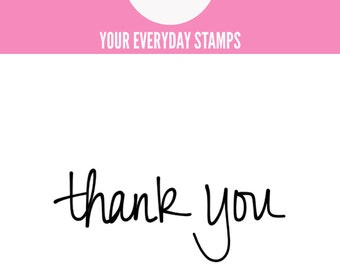 YES Thank You stamp
