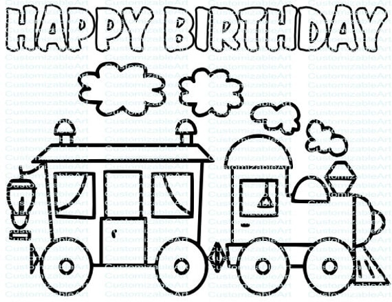 Choo Choo Train Birthday Party Printables Train Birthday Party