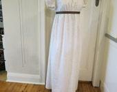 Regency/Jane Austen gown sized to order