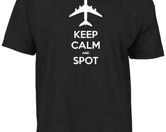 Keep calm and spot t-shirt