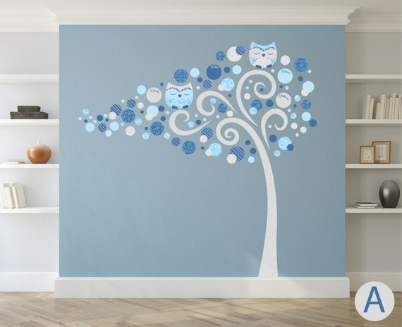 Albero adesivo da muro decorazioni casa wall decal wall for Decorazioni muro