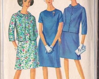 Simplicity 6978 Vintage 1967 Sewing Pattern