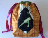 Chill Out Frog - TAAT- Project Bag for Knitting Two At A Time à la SockSack - Ramona Rose