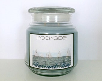 16oz. BUZZARD'S BAY hand-poured - Soy-blend Candle