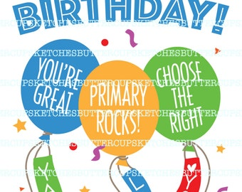 Lds primary clipart – Etsy