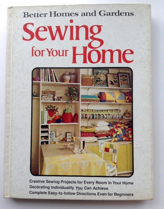 Items Similar To Better Homes And Gardens Sewing For Your