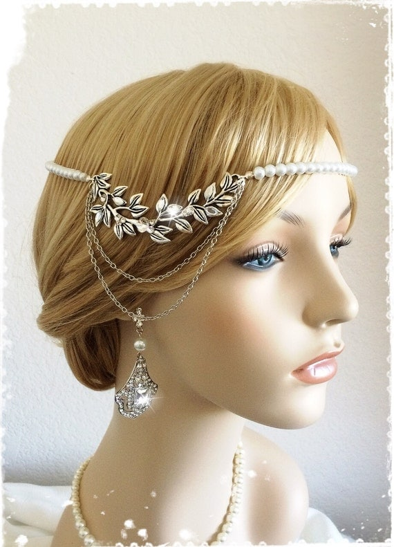 Items similar to 1920s Art Deco Great Gatsby Inspired ...