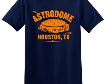 The Astrodome 1965 Baseball Tee Shirt - Home of the MLB Houston Astros
