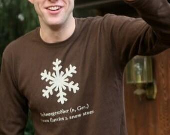 Snowflake Schneegestoëber waffle-weave thermal
