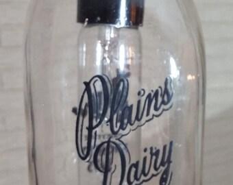 Antique Milk Bottle Light