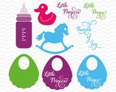 Baby svg file, SVG, DXF, EPS, svg cutting files, for use with Silhouette and Cricut Explore machines. Duck svg, svg designs, new baby.