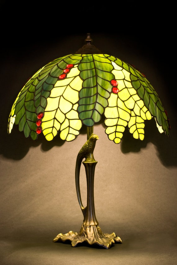 Stained Glass Lamp, Table Lamp, Kitchen Light, Bedside Lamp, Nightstand Lamp, Standing Lamp, Home Decor, Office Decor, Nightstand Decor