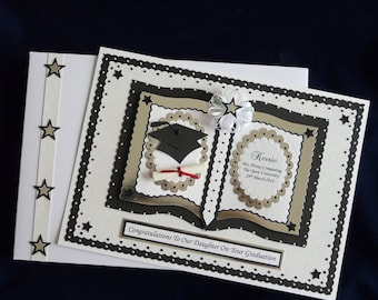 Graduation Card Personalised Large A4 Boxed