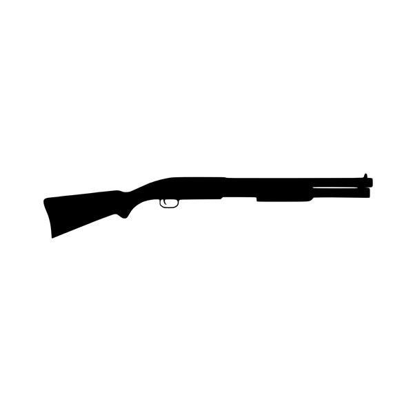 12 gauge shotgun vinyl decal