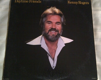 Kenny Rogers Daytime Friends Vinyl. Kenny Rogers 33 RPM Record Album.