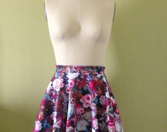Mahou Shoujo Skirt in Peony