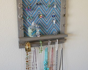 Jewelry Organizer, Jewelry Display, Wall Organizer