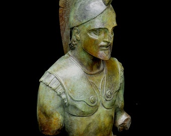 Achilles great bust Trojan war Leader Hero of The Myrmidons
