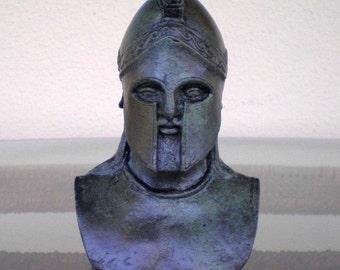 Leonidas King Of Spartans Bronze Bust