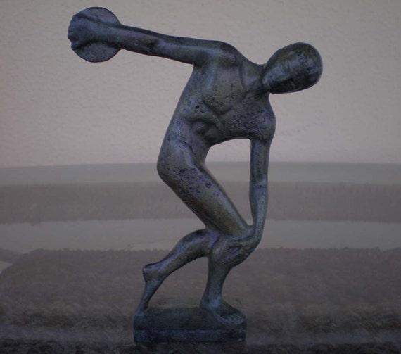 Discobolus of Myron Bronze Statue Ancient Greek by GreekDemigods