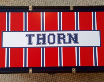 Custom Camp Trunk for Boys