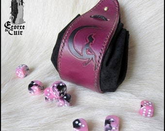 Fellowship of RPG reason fairy / fairy / RPG dice purse / handmade