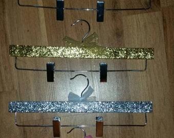 Glitter Tutu Hanger, Tutu Hanger, Skirt Hanger, Dance Hanger, Pom pom squad hanger, Cheer squad hanger