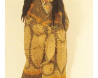 Vintage Skookum Doll all original