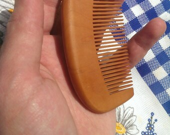 Wood comb Wooden hair comb Herbal comb Hair care Wood brush Wooden comb Carved wood Carving Wooden combs Wood combs Wood beard comb for him.