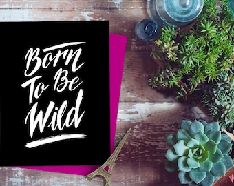 Born To Be Wild Etsy