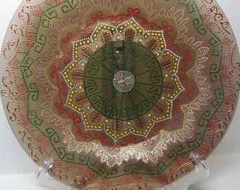 "Decorative plate "" Mandala """