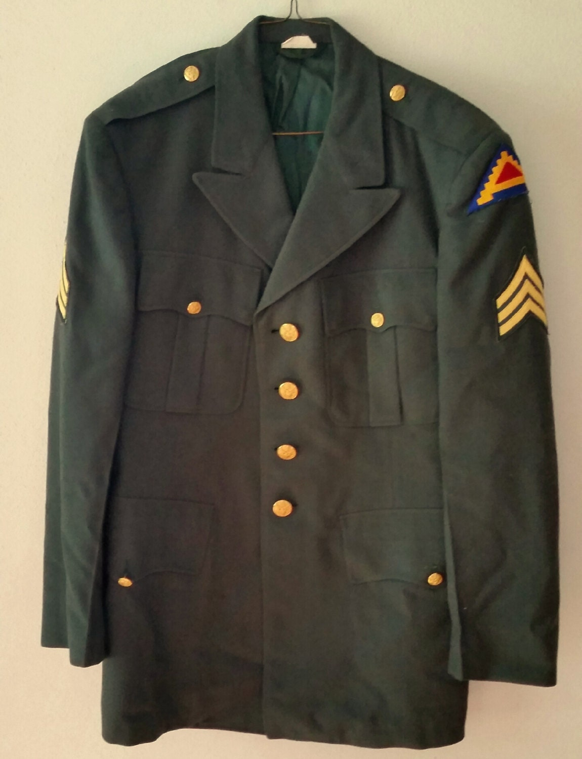 Army Class A Dress Uniform 58