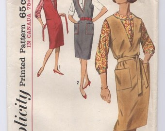 Simplicity 5067 -- Vintage 1960s Junior Jumper and Blouse Pattern -- Bust 31 1/2