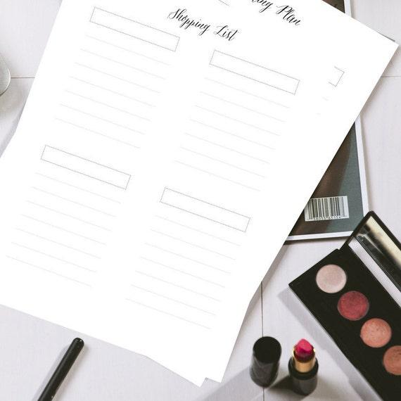 Shopping list elegant b w simple home by simplifyorganizing for Minimalist house list